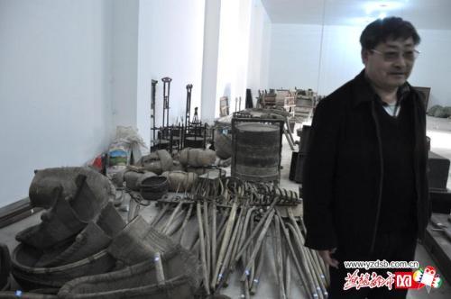 """沧州民俗收藏爱好者痴迷""""老物件""""想建立博物馆"""
