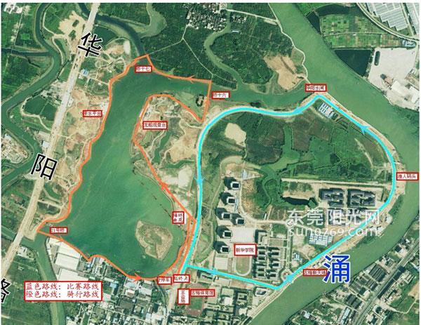 公开赛路线图