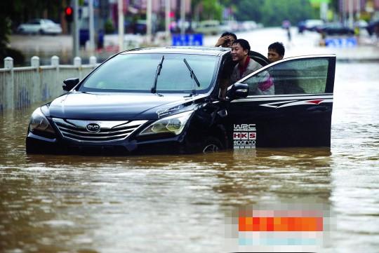 东莞 城市风景 水浸