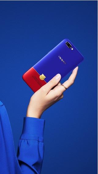OPPO R11巴萨限量版时尚撞色 最懂年轻人的手机